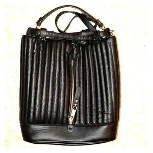 Black Zara book bag